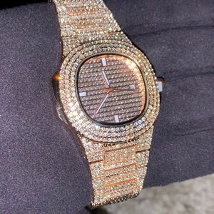 Other - Rose Gold Baller Watch ICED💎
